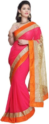 Kittu Self Design Fashion Georgette Sari