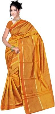 Kajal Syntex Embellished Banarasi Chanderi Sari