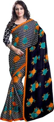 Komal Sarees Printed Bollywood Georgette, Chiffon Sari