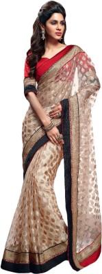 Zemi Self Design Fashion Tissue Sari