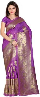 Fabdeal Embellished Kanjivaram Silk Sari