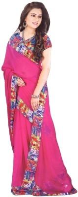 Heer Self Design Bollywood Chiffon Sari