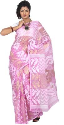 Keigan Self Design Jamdani Tissue Sari