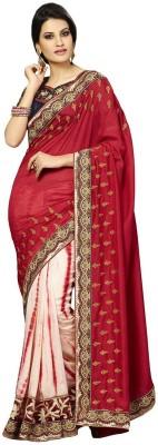 Zenny Creation Embriodered Fashion Georgette Sari