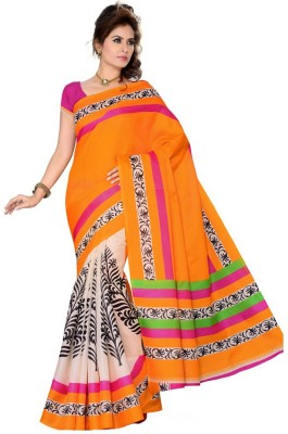 Heer Ganga Printed Fashion Art Silk Sari