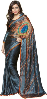 G Creation Self Design Fashion Georgette Sari