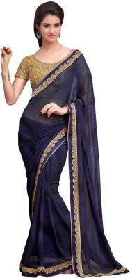 Festive Embriodered Bollywood Handloom Georgette Sari