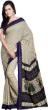 Goodfeel Floral Print Fashion Crepe Sari...