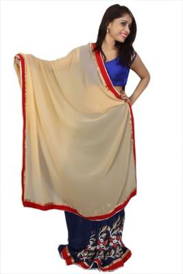 Creativz Hand Embriodered Bollywood Pure Georgette Sari