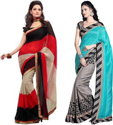 Neeta Creation Embriodered Bollywood Chiffon Sari