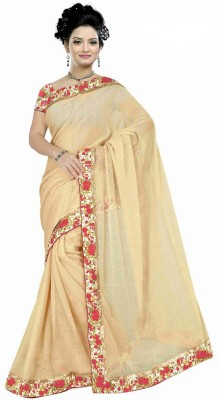 Matindra Enterprise Printed Fashion Lycra Sari