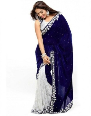 VANI FASHIONS Self Design Fashion Velvet Sari