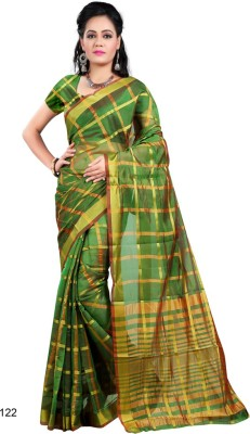 Vpc Self Design Banarasi Cotton Sari