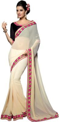 Jambudi Creation Embriodered Fashion Georgette Sari