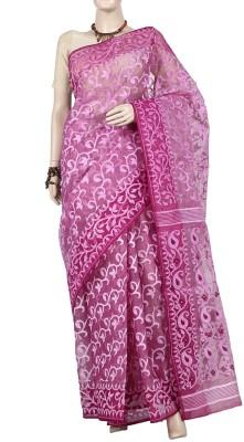 Banglarsare Printed Daily Wear Silk, Cotton Sari