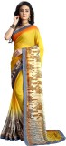 Snova Printed Bollywood Georgette Saree ...