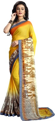 Snova Printed Bollywood Georgette Sari