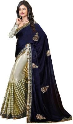 Heaven Deal Embriodered Fashion Chiffon Sari