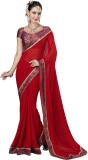 Desi Look Embroidered, Solid Fashion Chi...