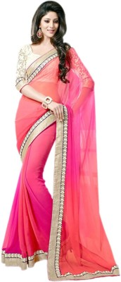Poonam Saree Printed Fashion Chiffon Sari