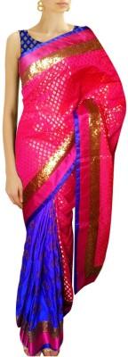 Sthavi Embriodered Fashion Brocade Sari