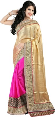 Shree Shyam Silk Embriodered Banarasi Banarasi Silk, Jacquard Sari