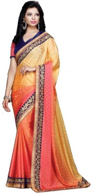 Sakthi Silks Self Design Bollywood Georgette Sari