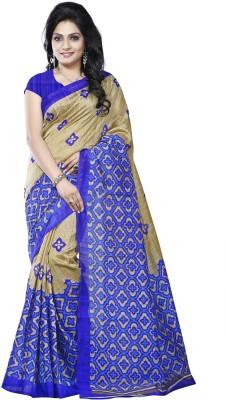 Bansy Fashion Printed Daily Wear Art Silk Sari