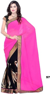 AC Creation Embriodered Bollywood Chiffon Sari