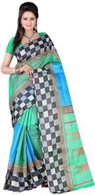 FabTexo Embriodered Bhagalpuri Cotton Sari