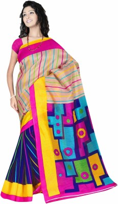 Sonal Trendz Printed Fashion Art Silk Sari