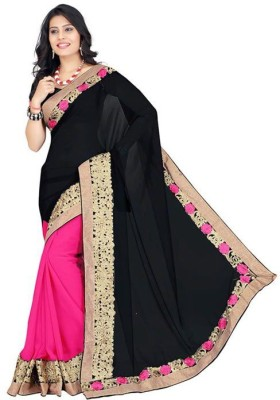 India Bulks Embriodered Bollywood Georgette Sari