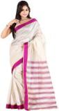 Alberts Solid Assam Silk Silk Saree (Pin...