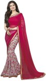 Pinkpassion Floral Print Bollywood Georg...