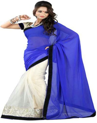 Sonakshi Sarees Embriodered Fashion Georgette Sari