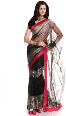 Right Cart Self Design Bollywood Net Sari