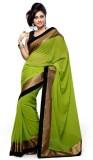 Navyou Solid Fashion Georgette Saree (Li...