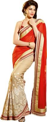 Brand Villa Embriodered Bollywood Georgette Sari