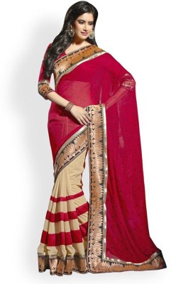 Trusha Dresses Printed Fashion Georgette Sari