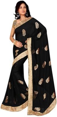 Sareeka Sarees Printed Bollywood Chiffon Sari