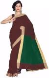 Asha Fashion Solid Fashion Cotton Saree ...