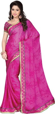 shart Printed Daily Wear Satin Sari
