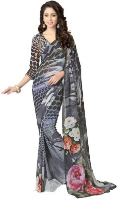 Cutie Pie Printed Fashion Georgette Sari