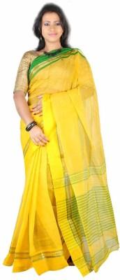 Hawai Striped Daily Wear Cotton Sari