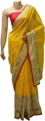 BEAUVILLE VAIIBAVAM Self Design Fashion Net Sari