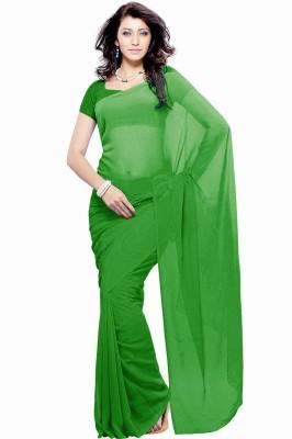 Jiya Self Design Fashion Georgette Sari