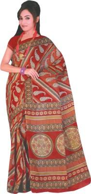 Dhammanagi Paisley Daily Wear Cotton Sari
