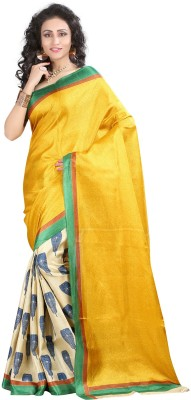 Shivanifashion Printed Bhagalpuri Art Silk Sari