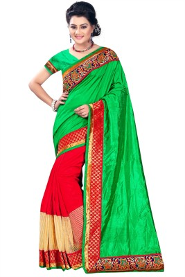 Azara Lifestyle Embellished, Self Design Banarasi Banarasi Silk Sari