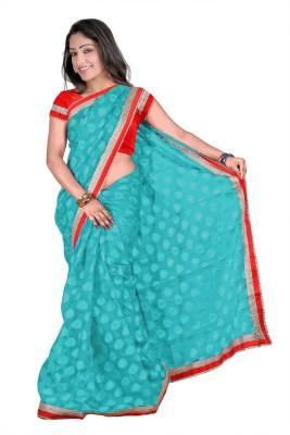 Ashvin Applique Bollywood Jacquard Sari